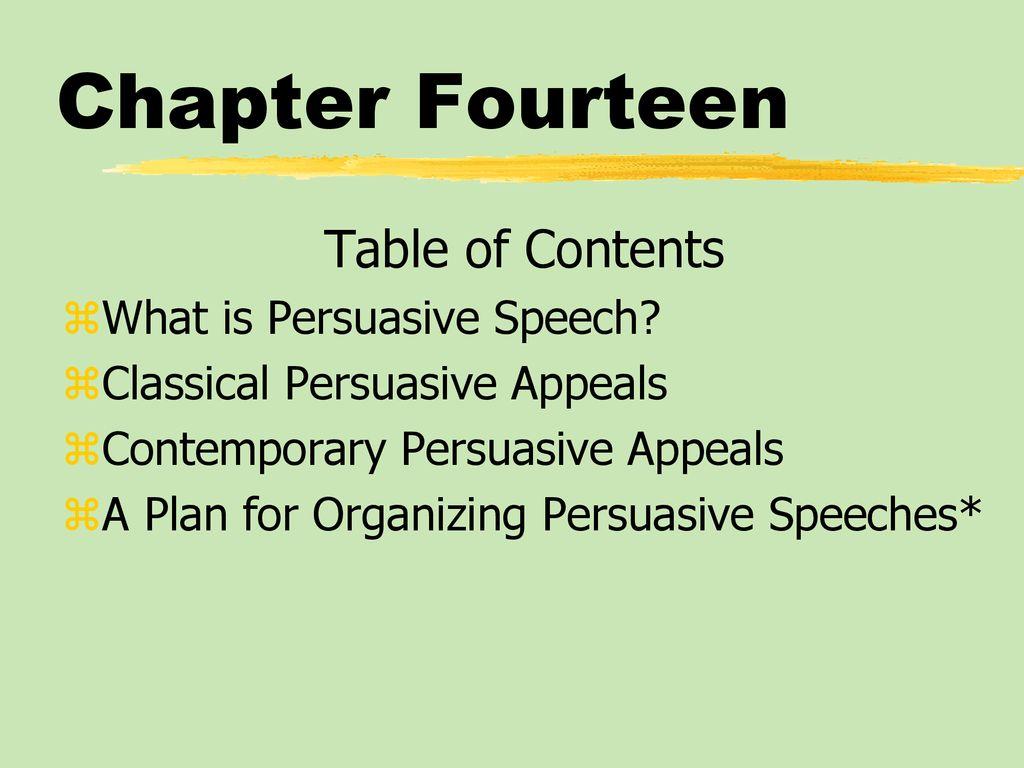 what is argumentative speech