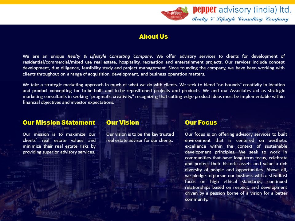 Corporate Profile Ppt Video Online Download