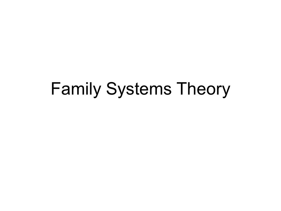 the lens of family systems theory Family systems theory by edwin53021 9289 views bowenian family therapy by practical ce semi family systems theory by aileen pascual 28997 views share slideshare.