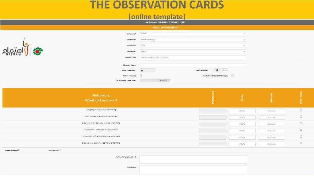 A Behavior Based Safety System Ppt Download
