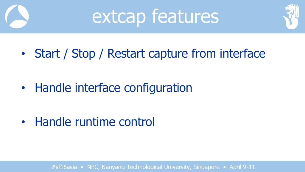 16: extcap – Packet Capture beyond libpcap/winpcap - ppt download