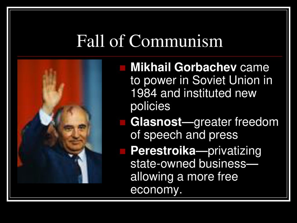 mikhail gorbachev instituted the policies of glasnost and perestroika to