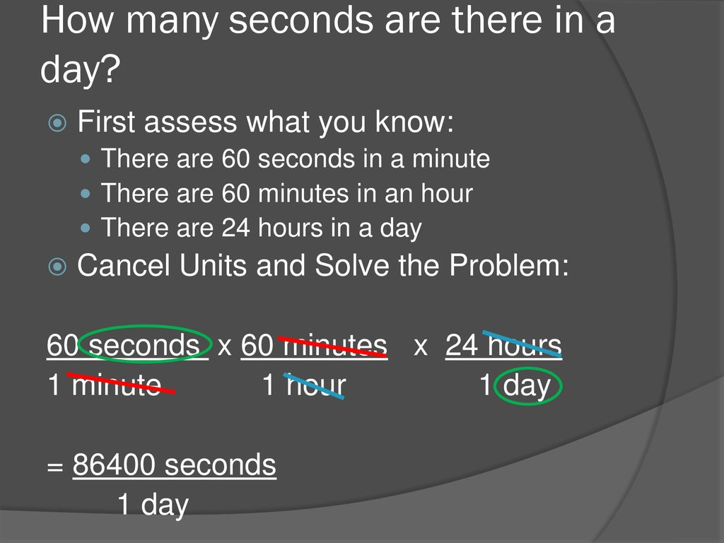 Warm Up How Many Seconds Are There In A Day Ppt Download
