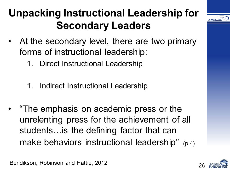 Principals Leading Learning Ppt Video Online Download