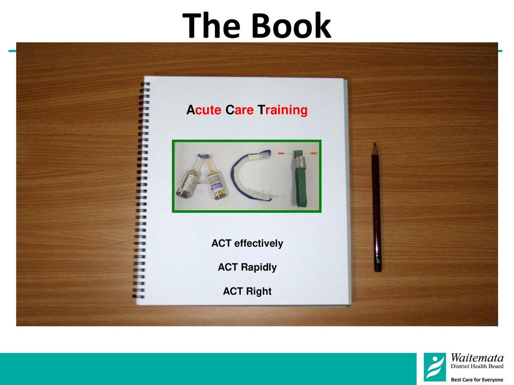 The Book Acute Care Training