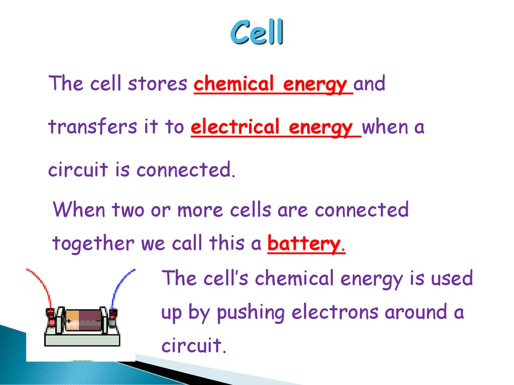 Electrical Circuits Ppt Download Parallel The Cells Are Connected In All 3 Cell