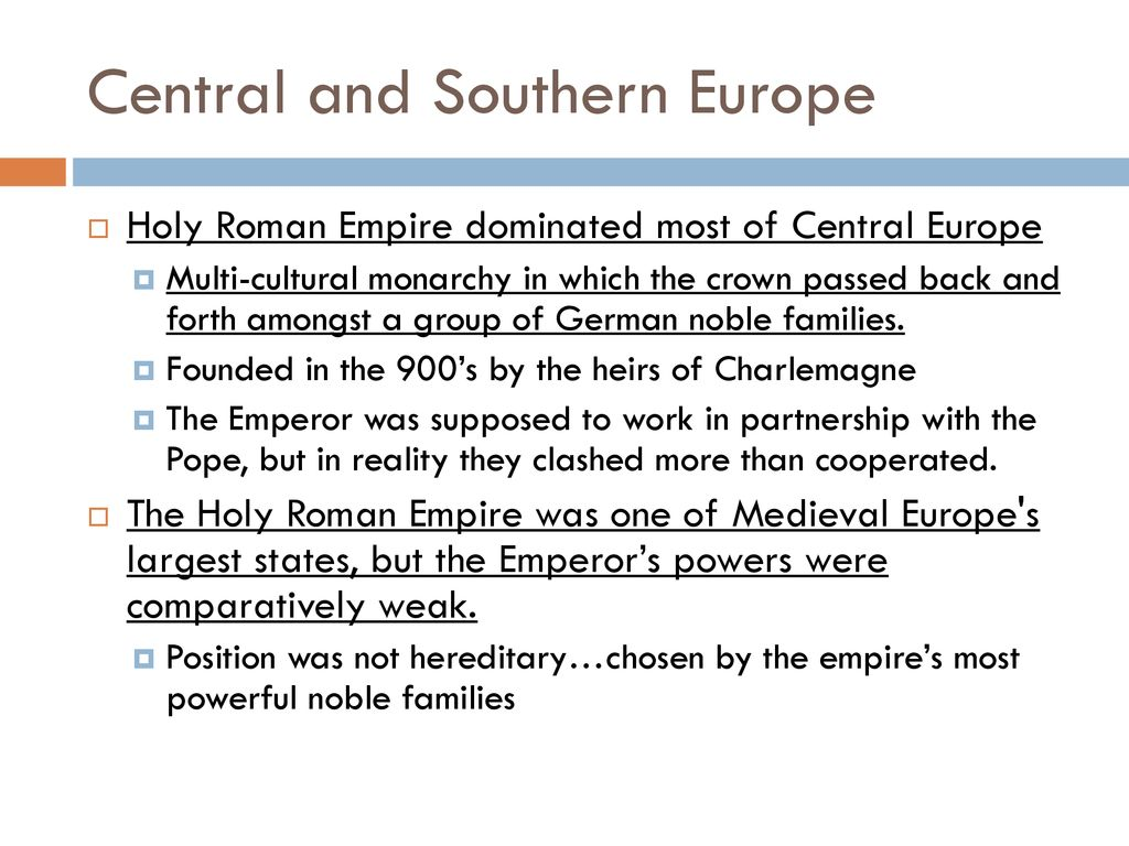 Europe during the Middle Ages - ppt download