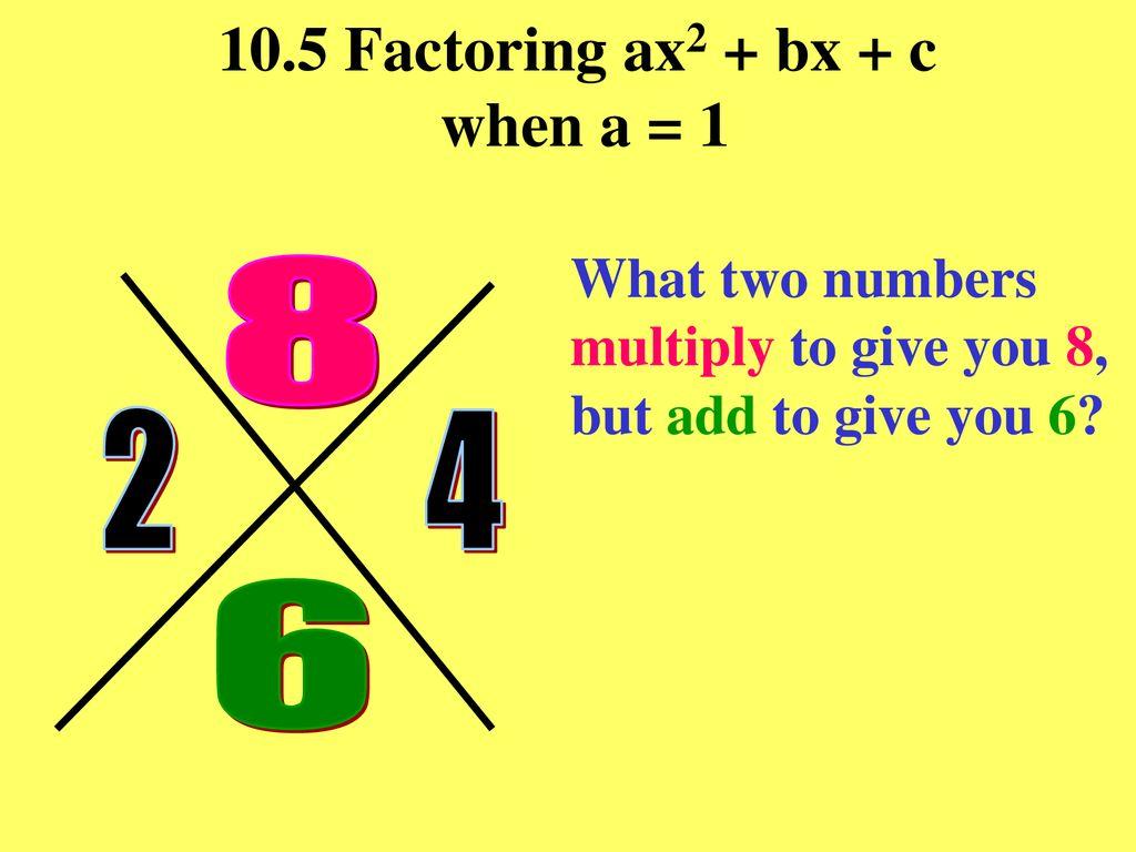 x2444444 + 2444444x + 24444444 = x2444444 – 24444441 = x2444444 – 24444x + 24444 = 2444444x2444444 + 244x – 2444444244 = x2444444 – ppt With Factoring Ax2 Bx C Worksheet