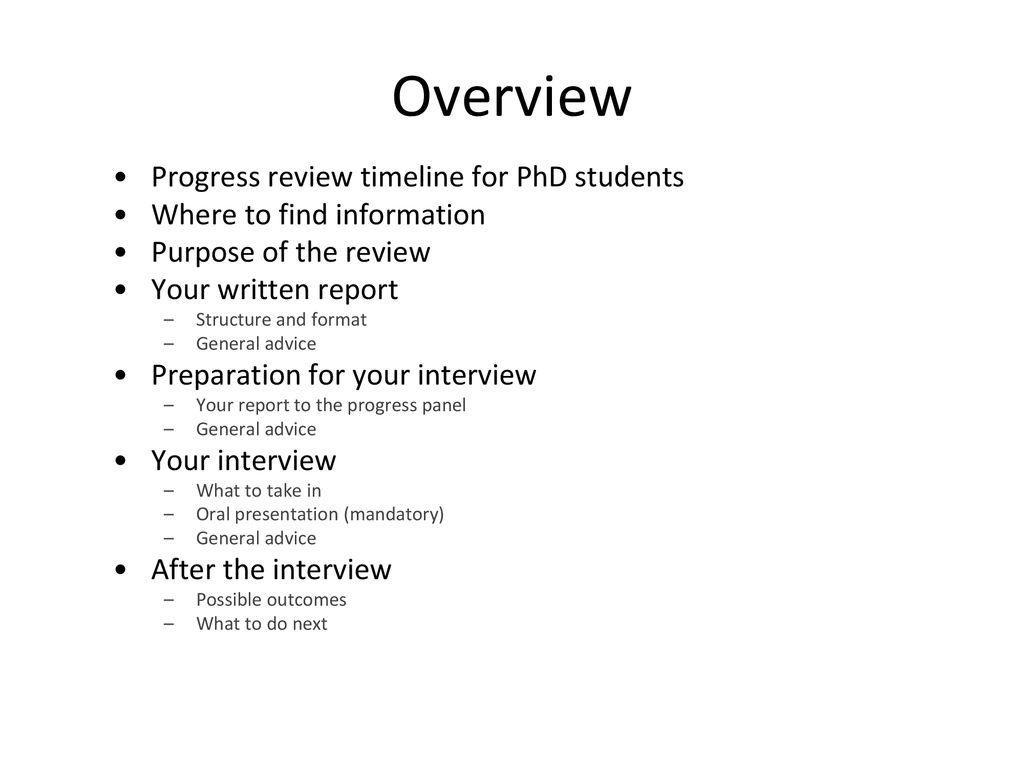 annual progress report format for phd