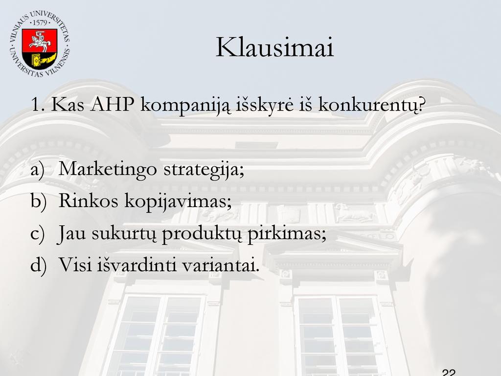 PPT - 5 tema. Strategi niai pasirinkimai PowerPoint Presentation, free download - ID
