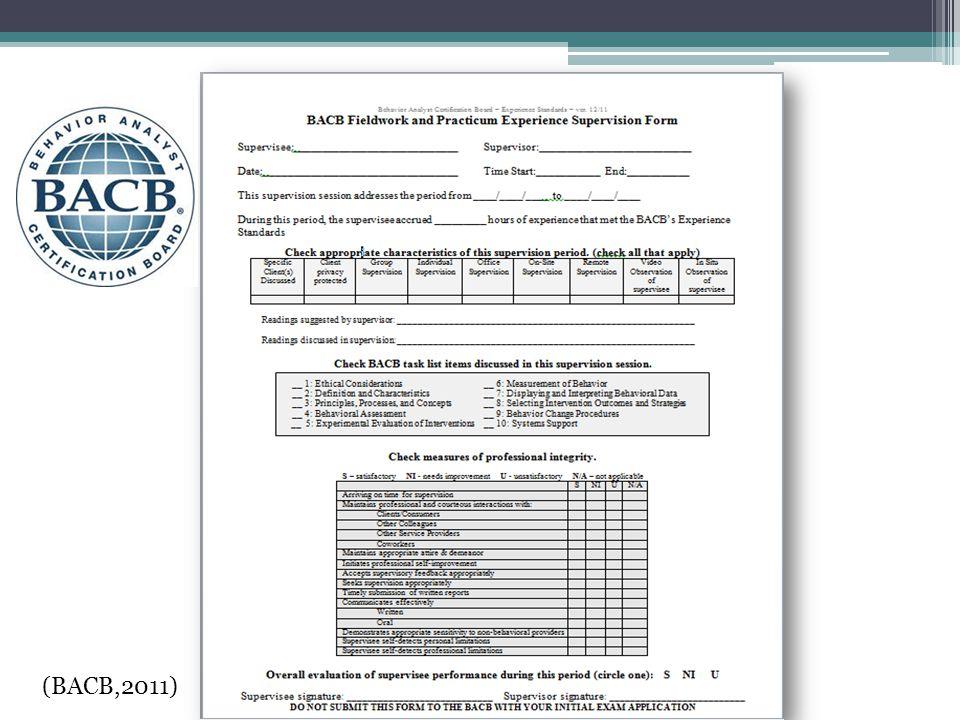 Bacb audit