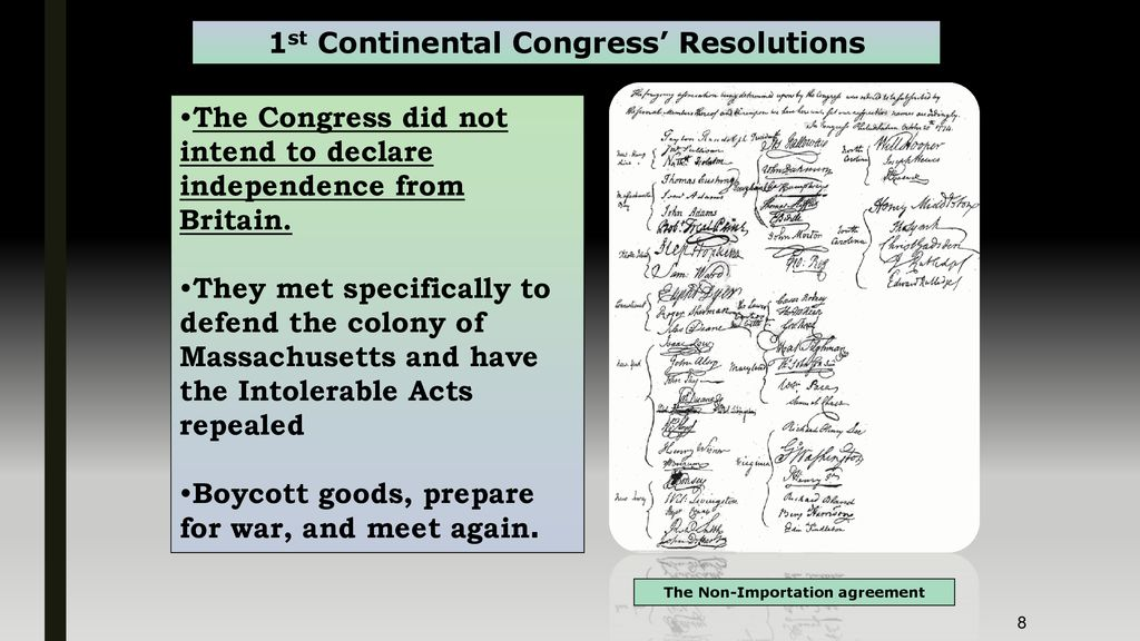 The Colonies Must Now Be Punished Ppt Download