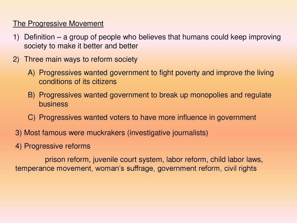georgia and the progressive movement - ppt download
