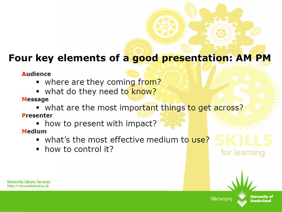 importance of good presentation skills