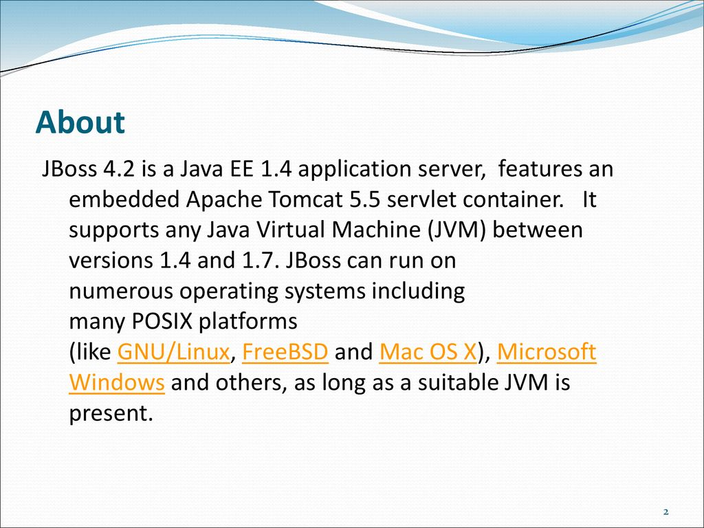 Introduction to JBoss application server - ppt download