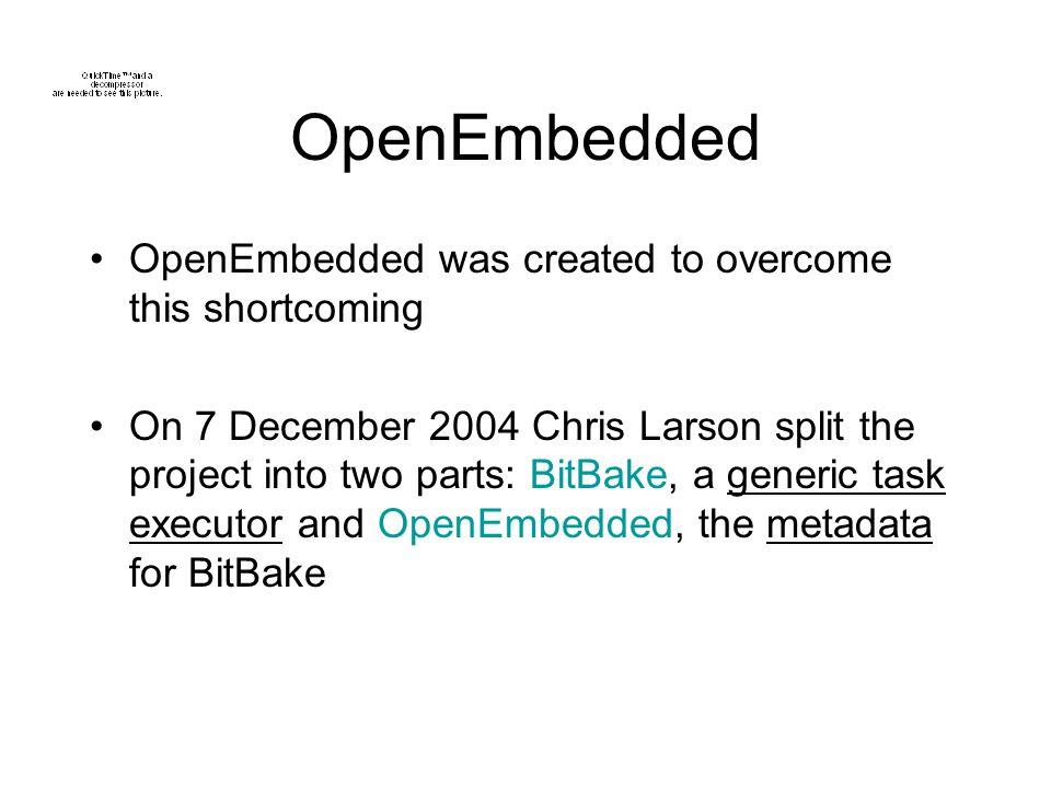 OpenEmbedded & BitBake - ppt video online download
