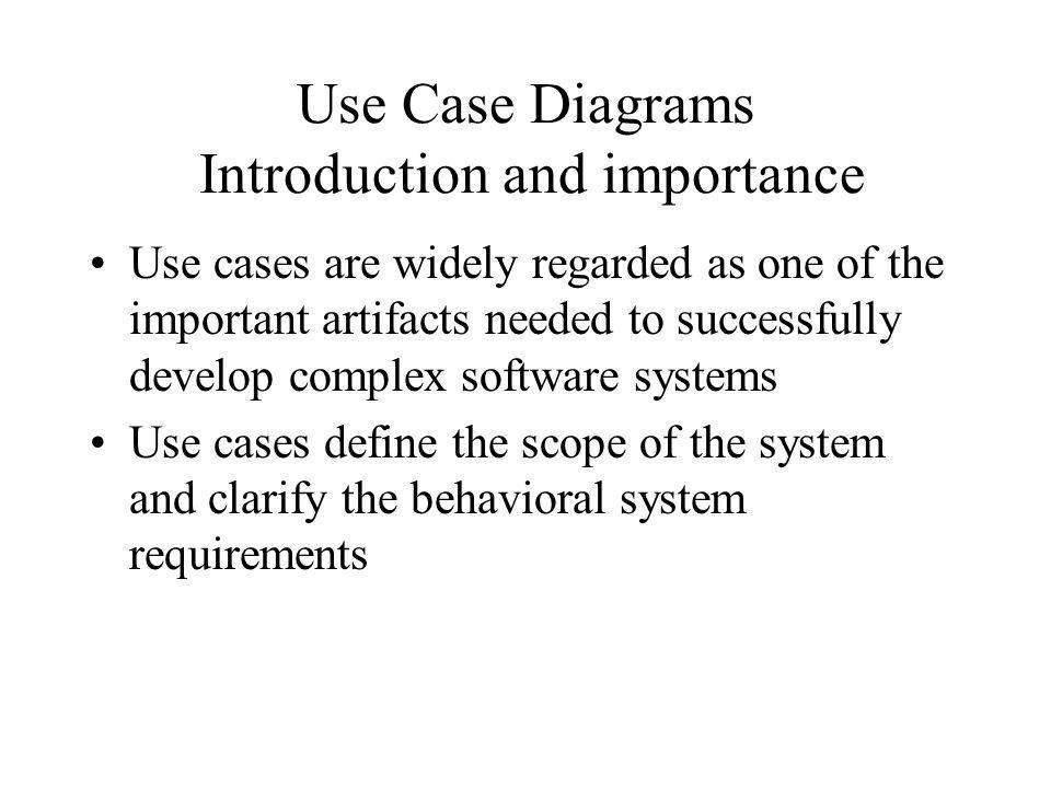 Requirements elicitation and use case diagrams ppt video online use case diagrams introduction and importance ccuart Image collections