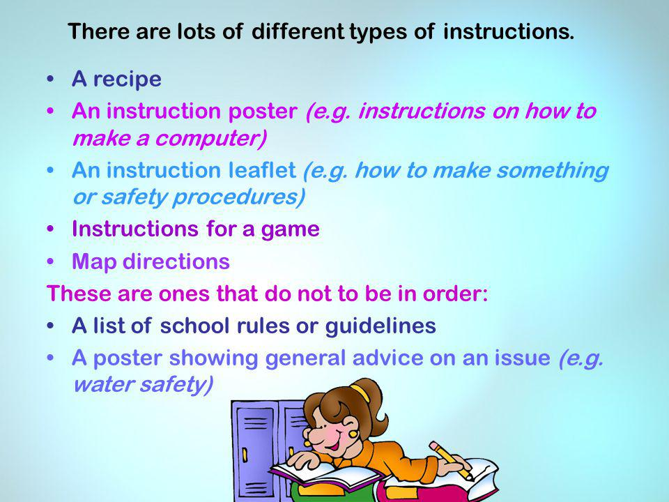 Writing Instructions At Key Stage 2 Ppt Video Online Download