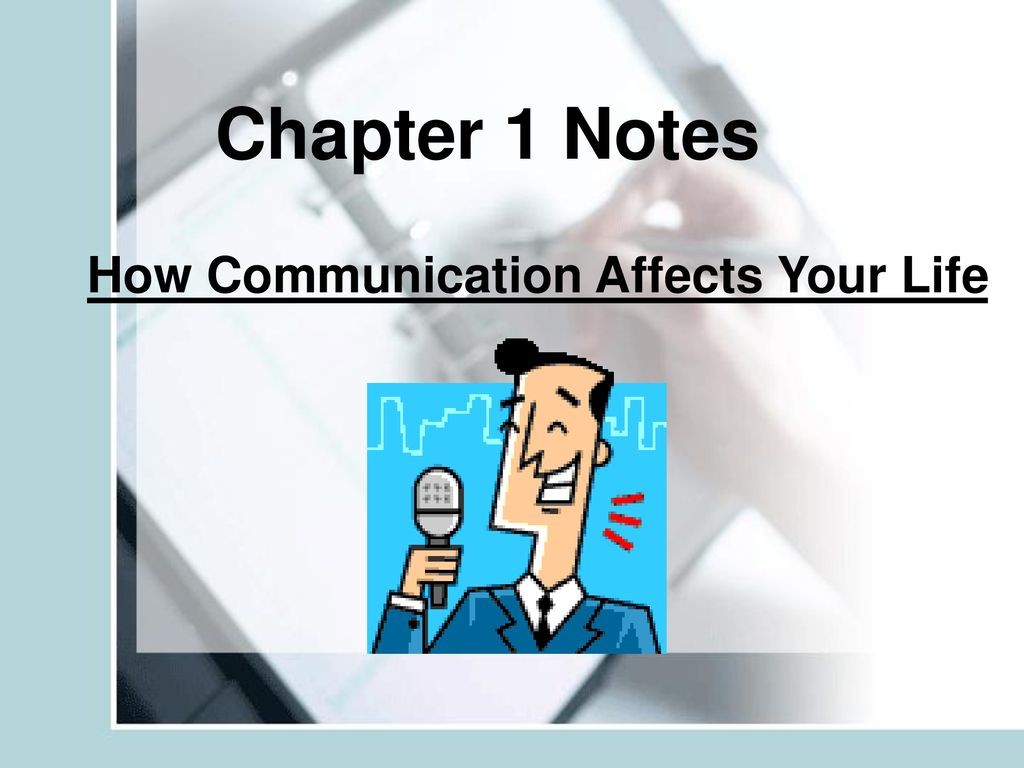 how communication affects your life