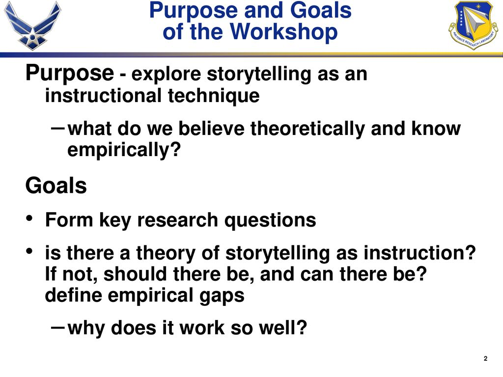 Storytelling as an Instructional Method: In Search of