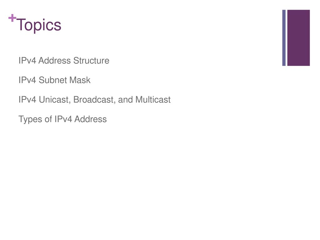 Lecture#3 IPV4 Addressing Net 302- Asma AlOsaimi  - ppt download