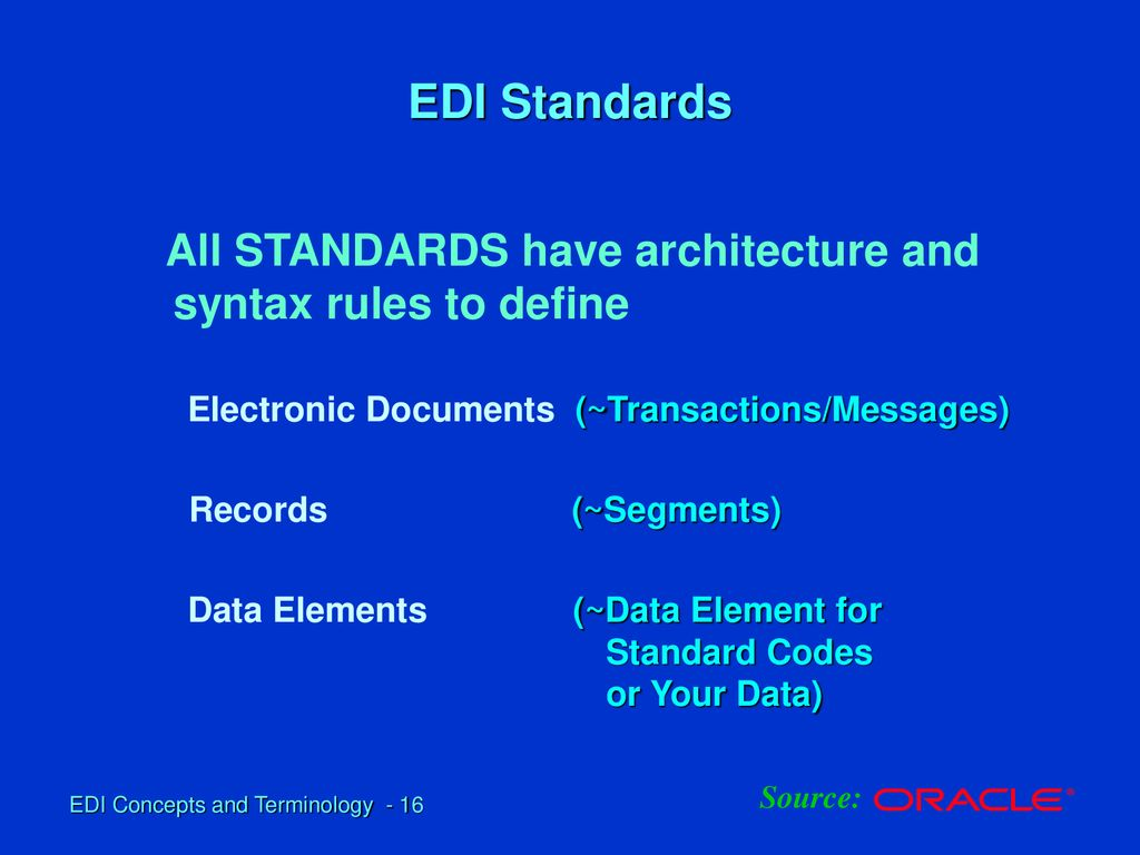 EDI Fundamentals and Standard - Overview - ppt download