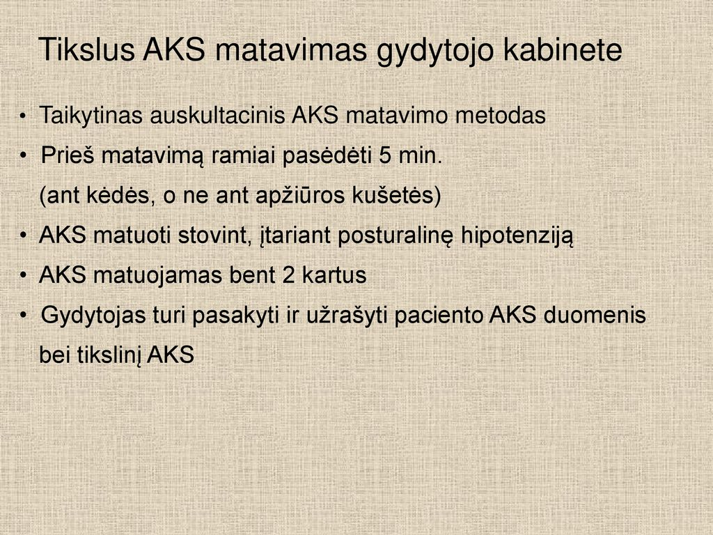 hipotenzija po hipertenzijos)