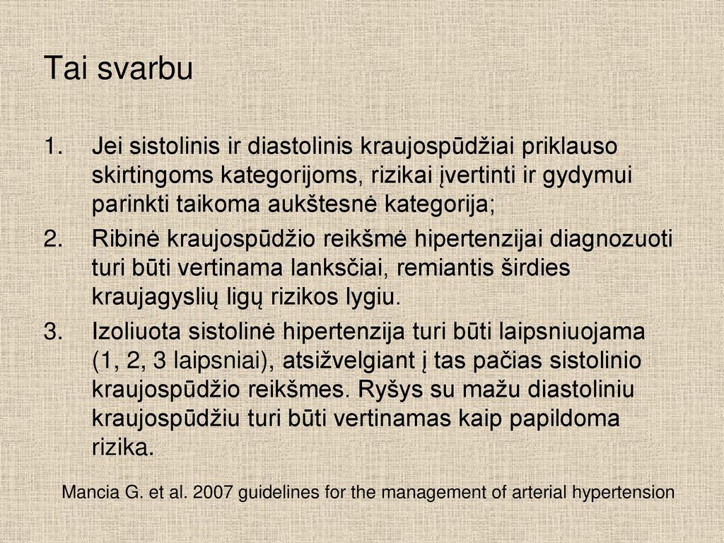 širdies tachikardija ir hipertenzija hipertenzijos metodai ir taikymai