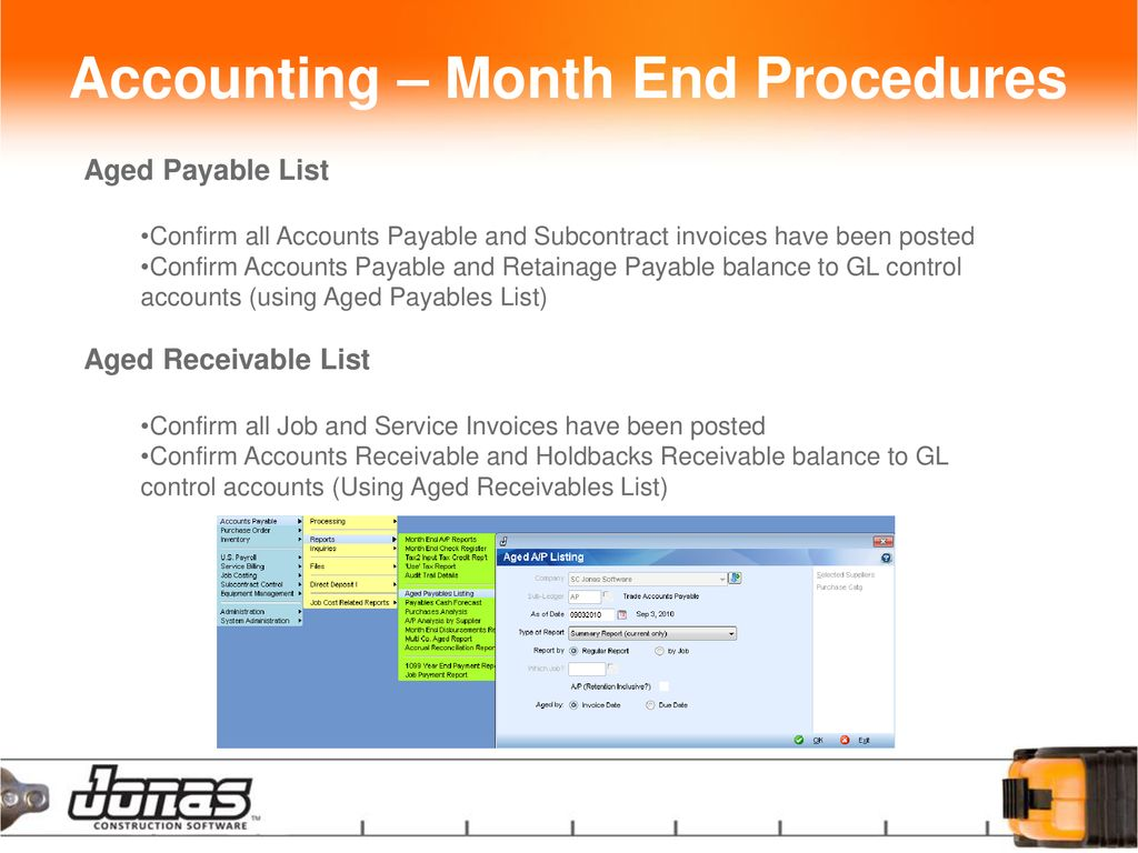 Clean Up – Monthly / Yearly Procedures - ppt download