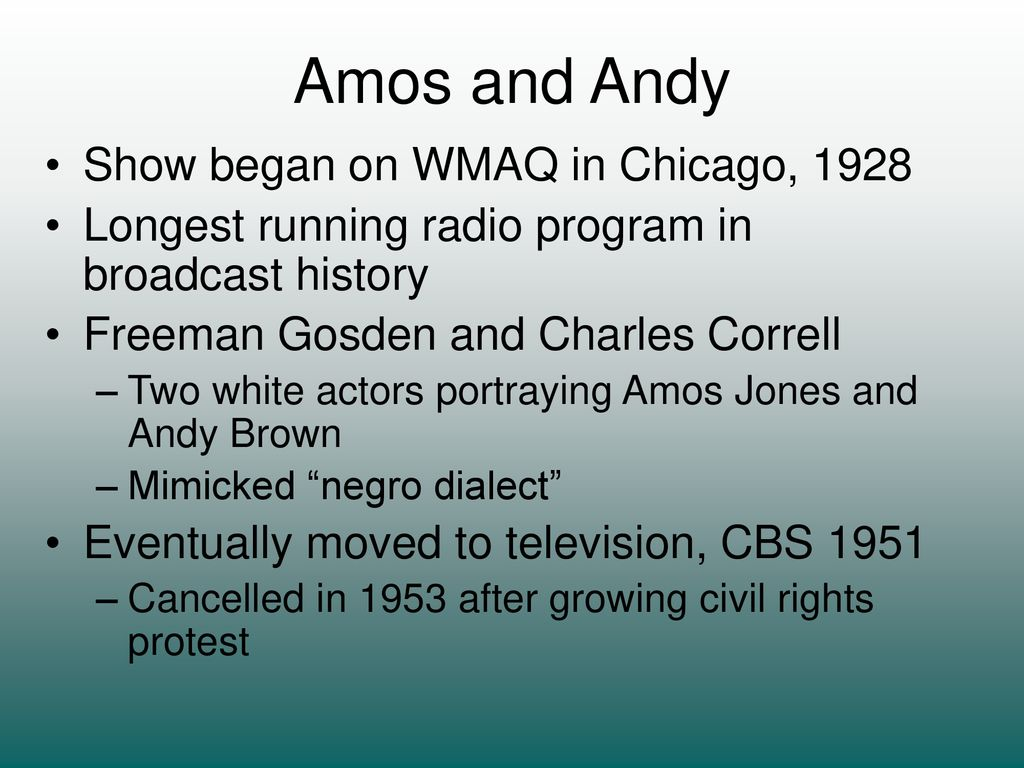 Radio Programming Through the Ages - ppt download