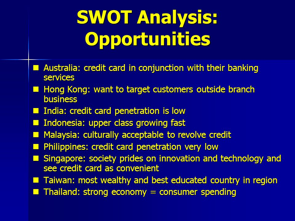 Citibank: Launching the Credit Card in Asia Pacific - ppt video ...