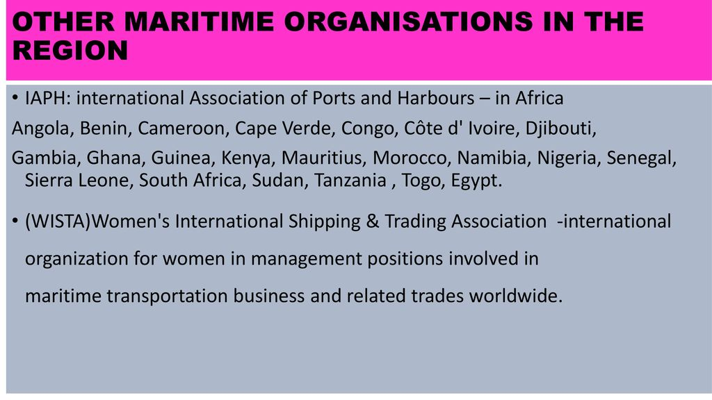 Think Maritime, Think Women - ppt download