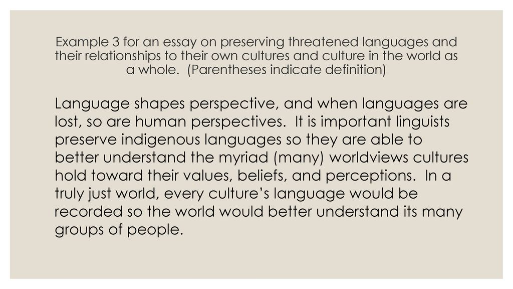importance of preserving indigenous cultures