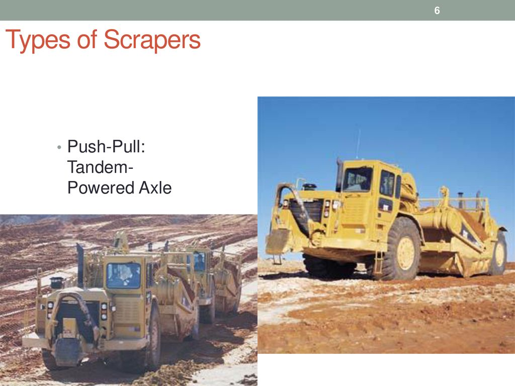 Lecture 6 scrapers TSP-308 MPK Ferdinand Fassa  - ppt download