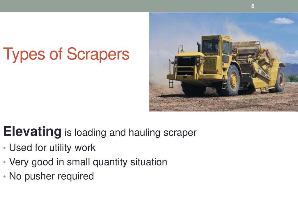 Lecture 6 scrapers TSP-308 MPK Ferdinand Fassa  - ppt download