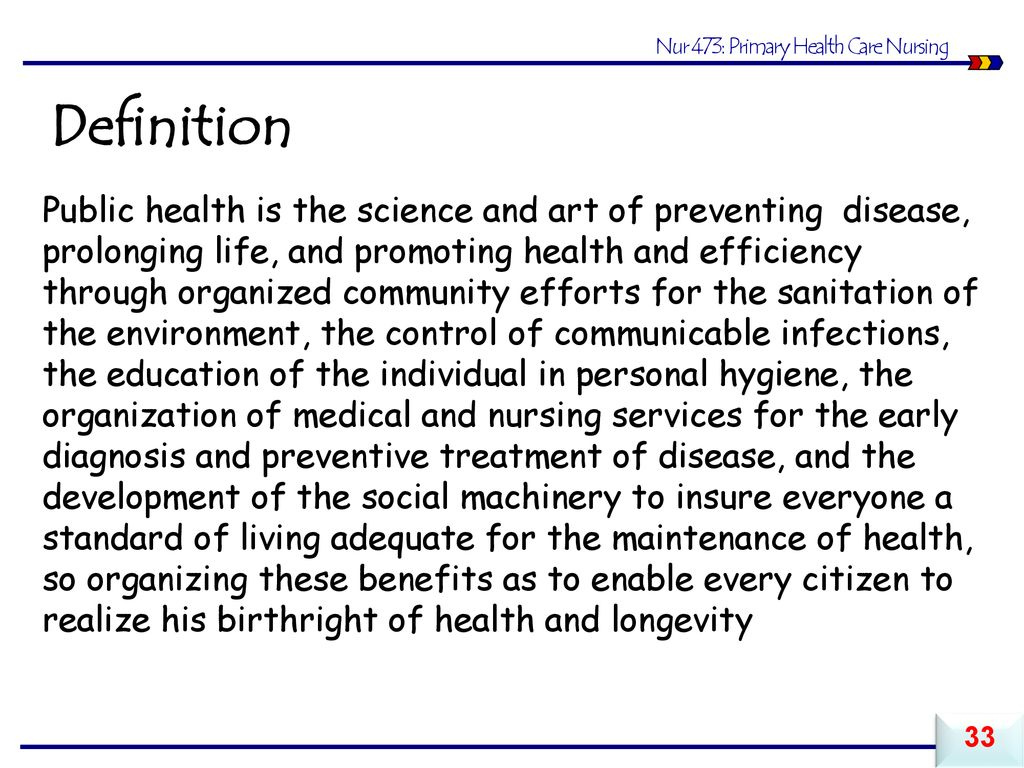 foundations of community health nursing - ppt download