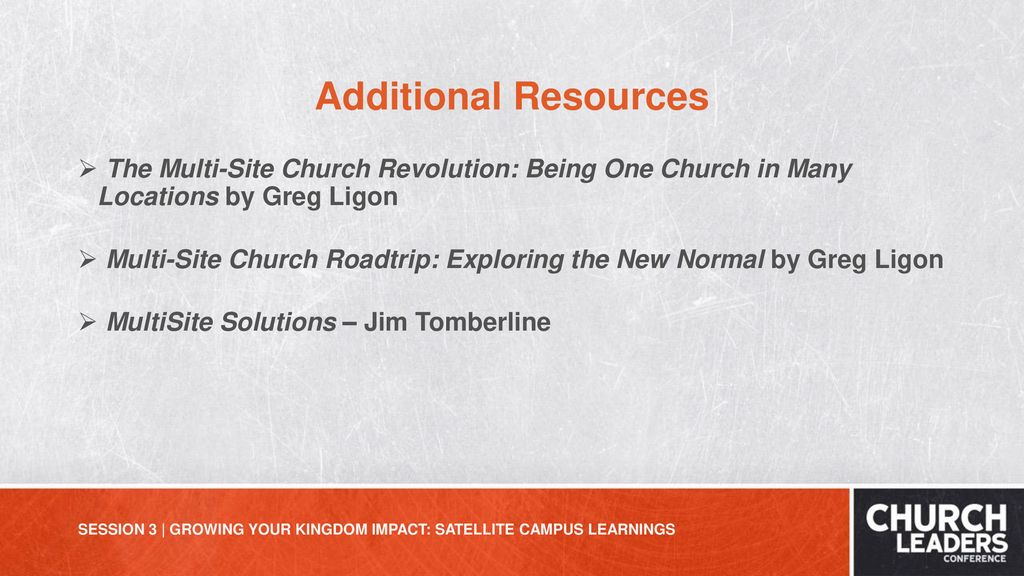 Growing Your Kingdom Impact Satellite Campus Learnings Ppt Download