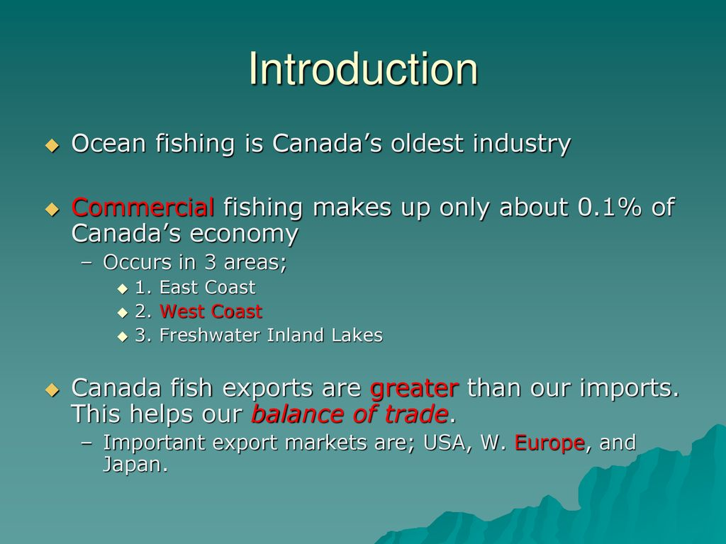 Fishing  - ppt download