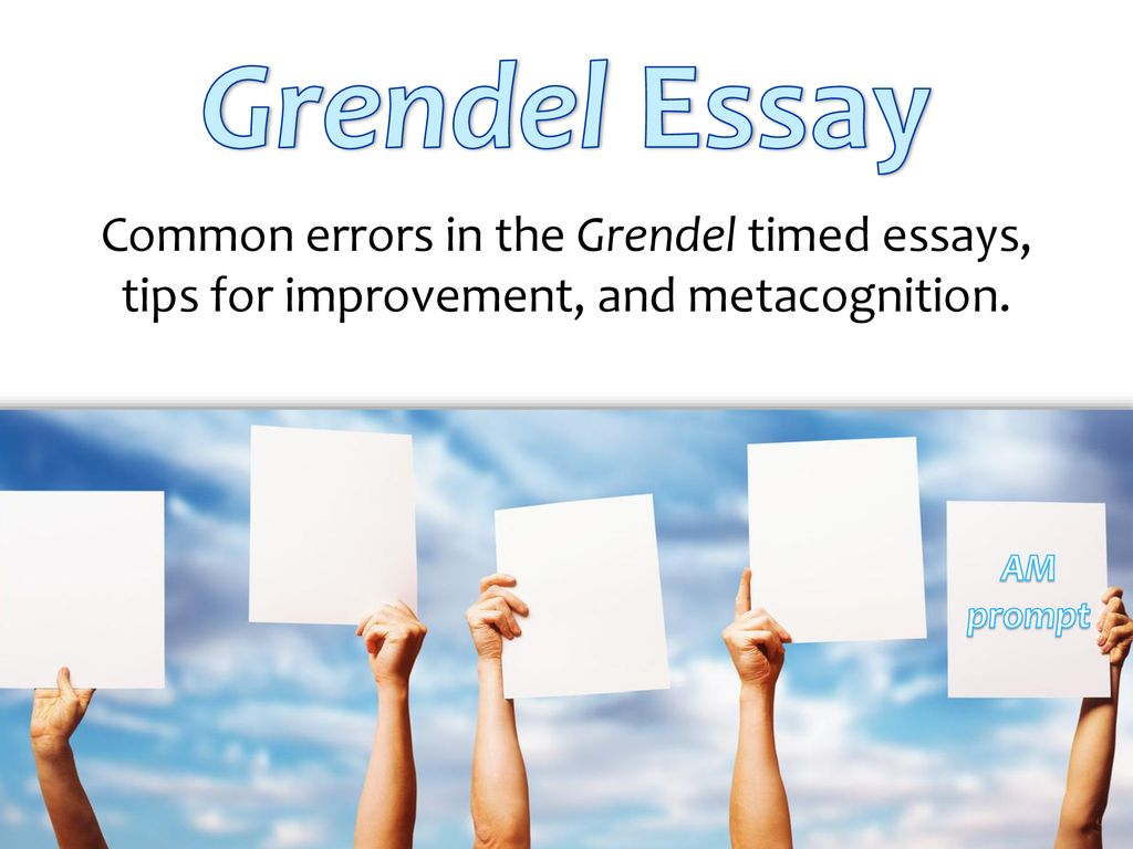 Grendel Essay Common Errors In The Grendel Timed Essays Tips For   Grendel  How To Use A Thesis Statement In An Essay also Business Plan Writers Ontario  Do My Assingmnet For Me