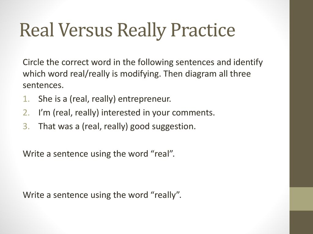 Adjectives Versus Adverbs Ppt Download