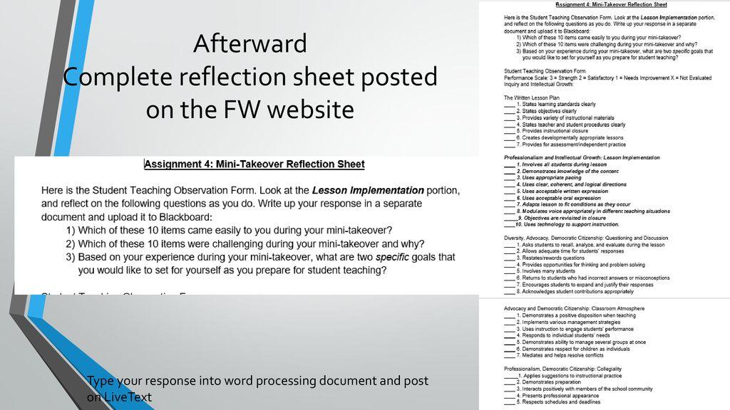 Fieldwork Assignments 3 & 4 Final Meeting - ppt download