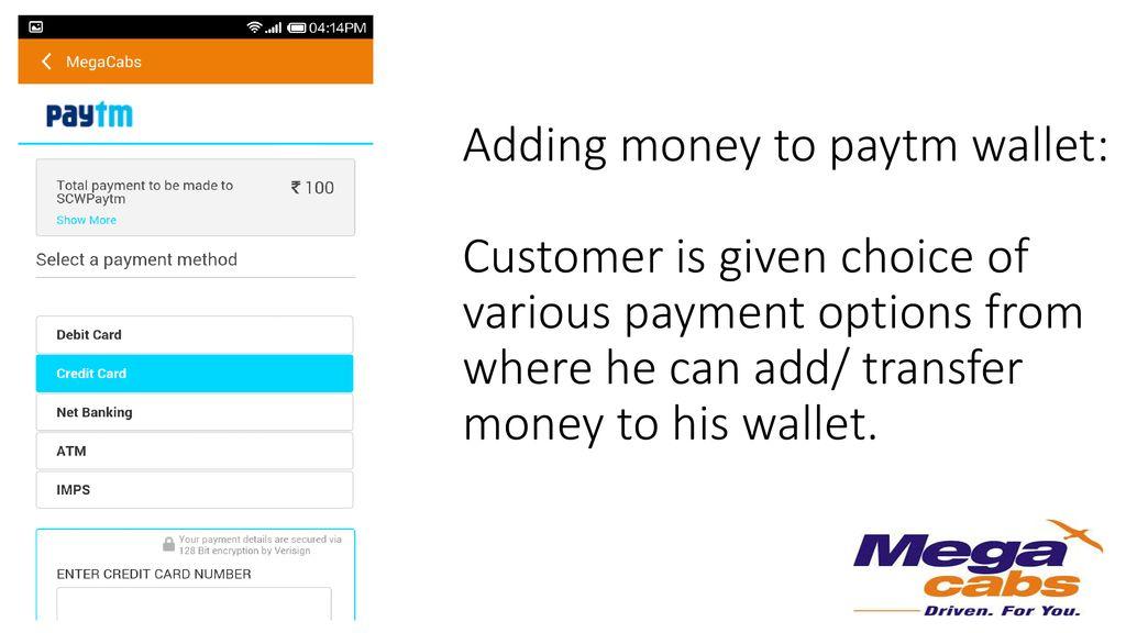 Mobile App & PayTM wallet flow) - ppt download