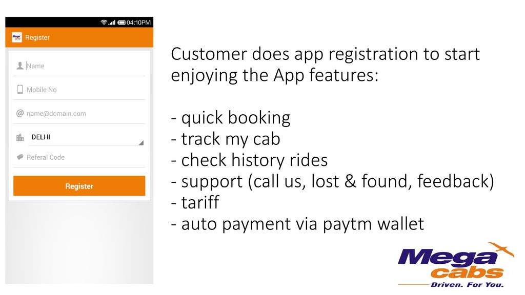 Mobile App & PayTM wallet flow) - ppt download