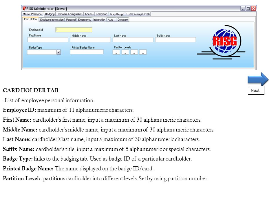 List of employee personal information  - ppt video online download