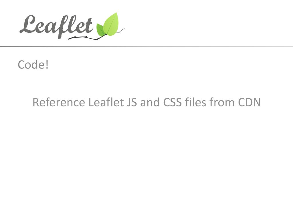 An Intro to Leaflet js Matt Anderson  - ppt download