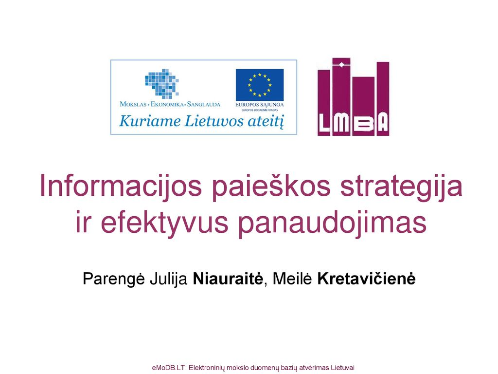 Marketingo strategija ir valdymas