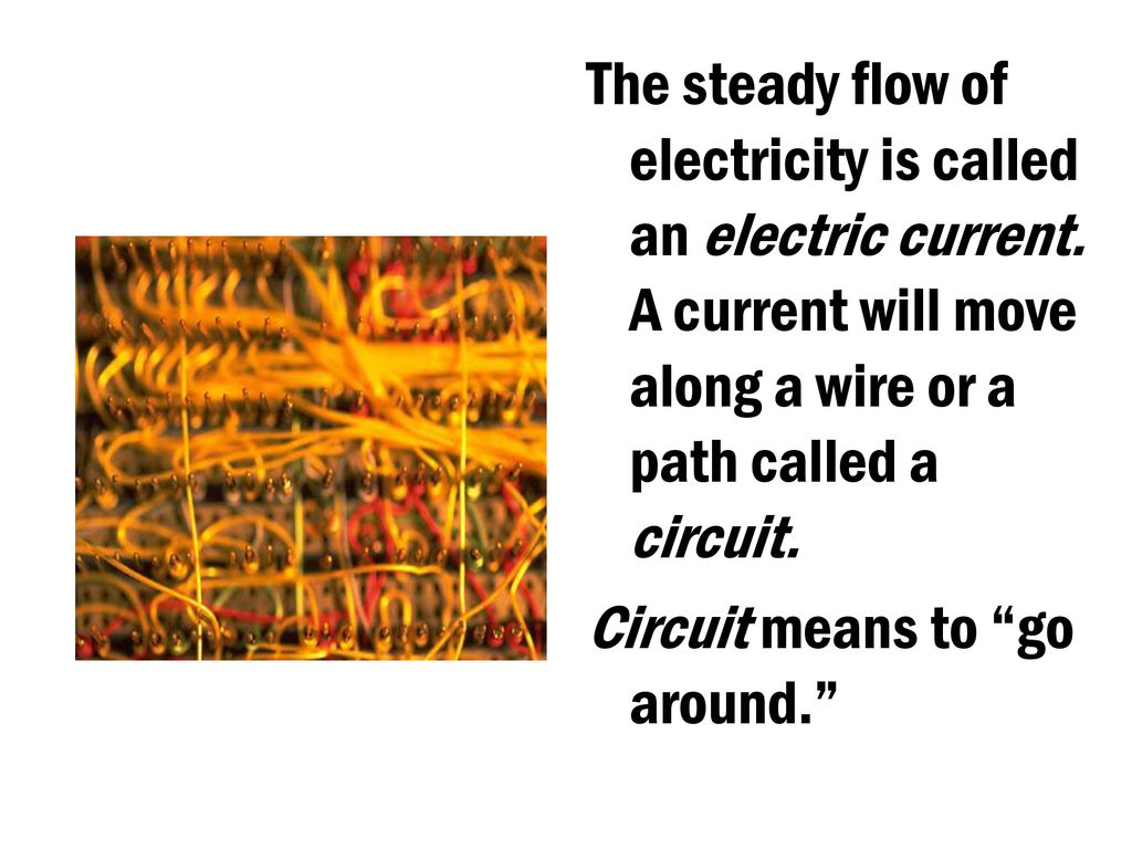 4th Grade Science Vocabulary Ppt Download Series And Parallel Circuits Circuit 5 The
