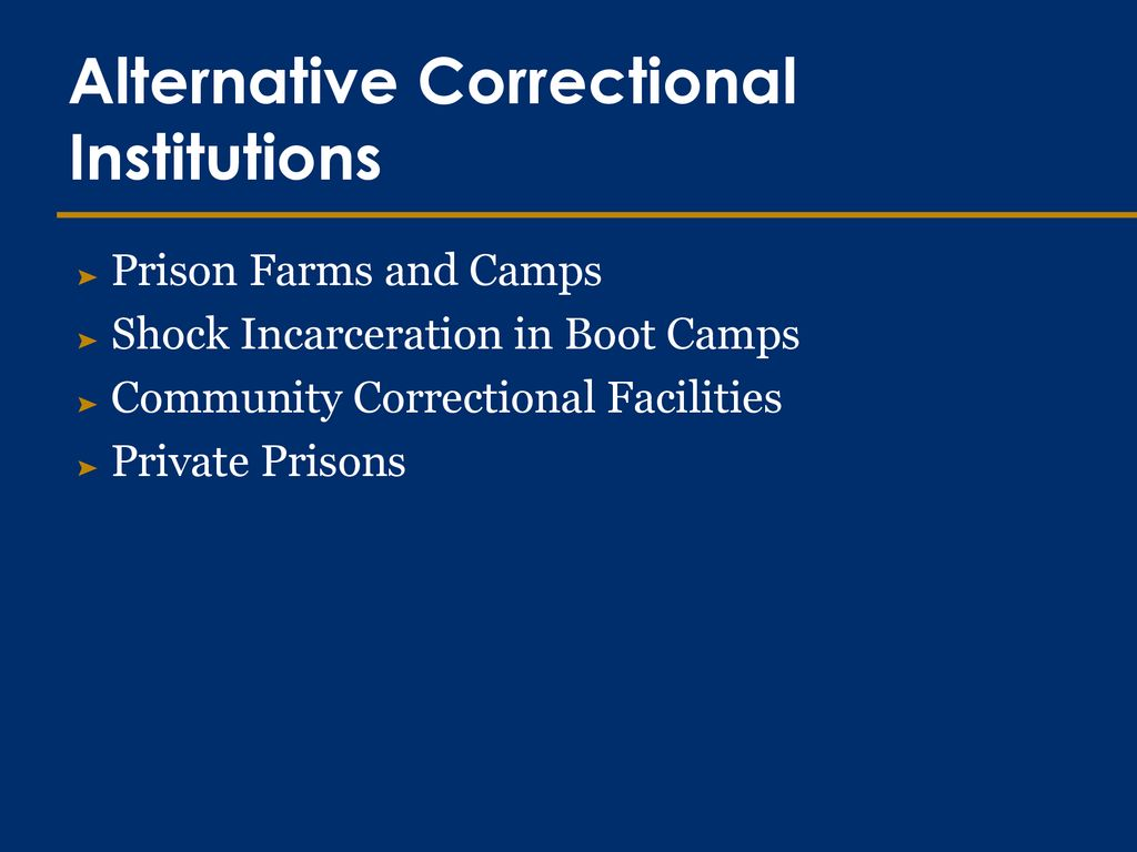 shock incarceration boot camp