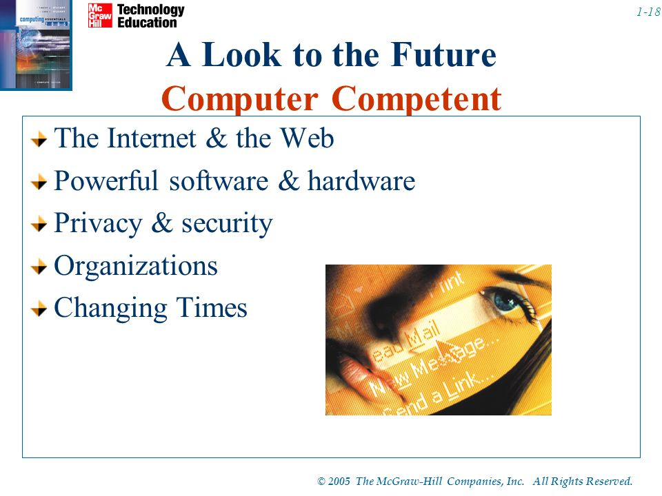 A Look to the Future Computer Competent