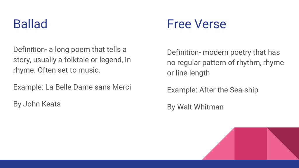 Poetry 10 Terminology By Isabel Cu  - ppt download
